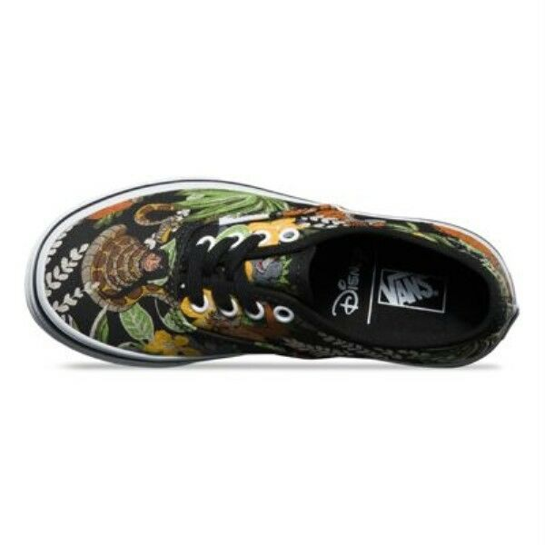 92401590b9 VANS Authentic Disney Shoes The Jungle Book Black Kids  Youth SNEAKERS  Vn018rhst 10.5 for sale online