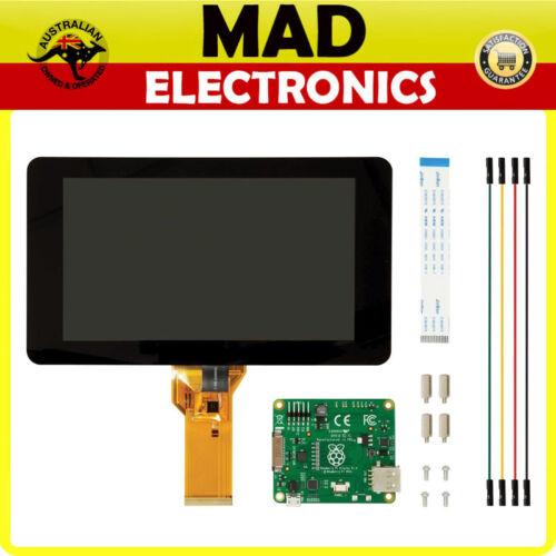 "Raspberry Pi 7/"" LCD Screen TFT 10 Finger Touch Screen Official Pi Foundation"