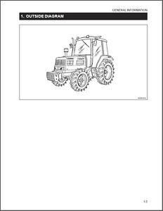 kioti daedong dk65 tractor workshop repair service manual
