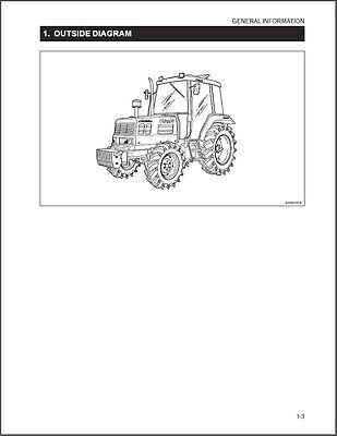 kioti dk65 tractor repair service workshop manual cd daedong dk rh ebay com Kioti DK65 Specs Kioti DK65 Parts