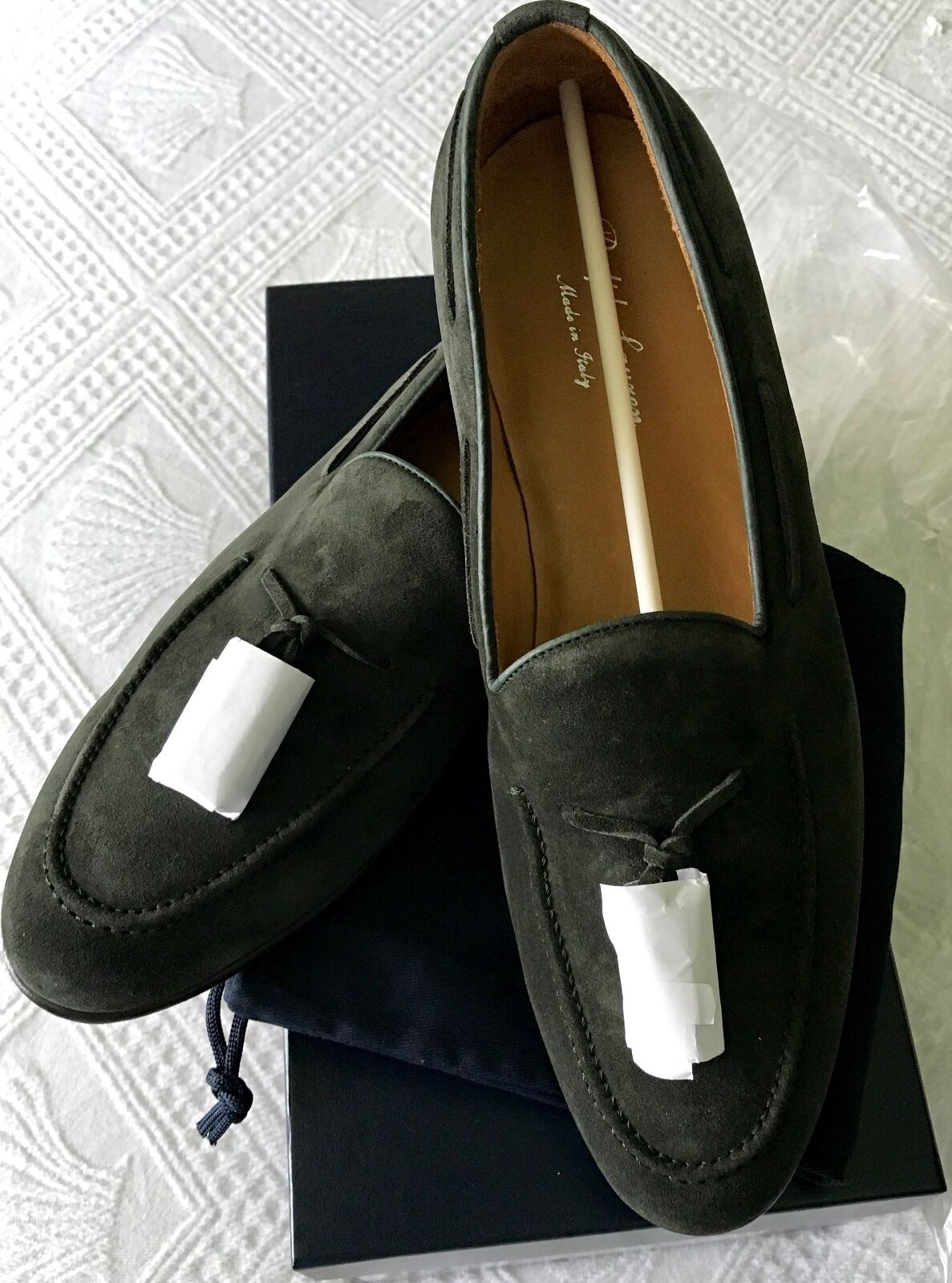 Felice shopping NEW NEW NEW Ralph Lauren CHESSINGTON Tassle Loafers Suede Leather scarpe  Sz US 10.5  acquistare ora
