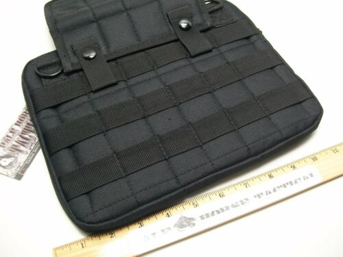 VISM Tactical Tablet MOLLE Pouch BLACK Range Bag Pistol Sleeve Insert MOLLE Pals