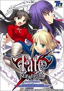 Type-moon-PC-Windows-Juego-Fate-Stay-Night-Normal-Version-Japon-Nuevo