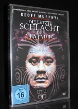 DVD DIE LETZTE SCHLACHT DER MAORIS - UTU - Maori Western aus Neuseeland * NEU *