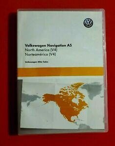 VW Original Navigation as SD-Carte mémoire Nord America v4 3g0919866bb NEUF