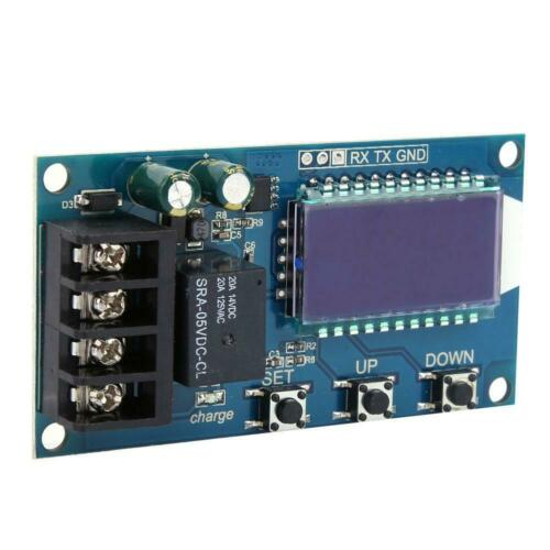 XY-L10A//30A Battery Charge Control Module Protection Board LCD Display 6-60V BT