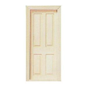 Image Is Loading 12th Scale Dolls House Wooden Interior Door Ideal