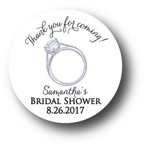 image is loading thank you for coming personalized bridal shower stickers