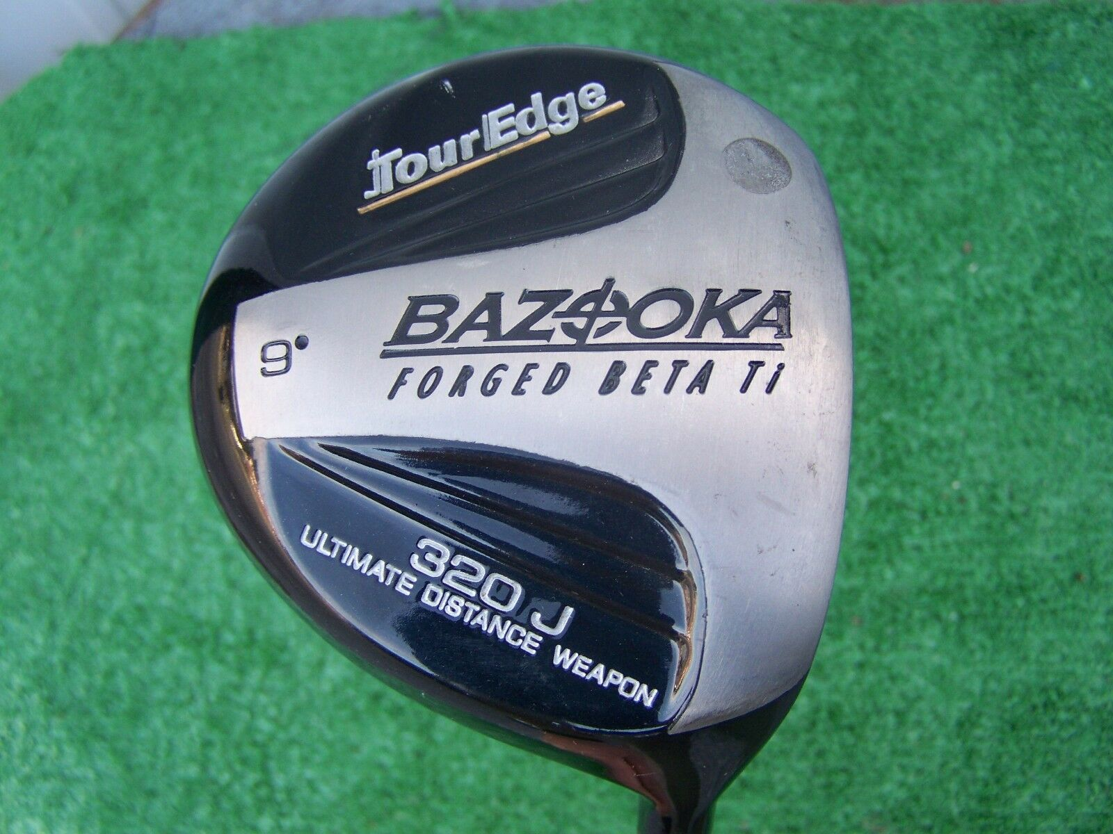 Tour Edge Bazooka Forjado Beta Ti 320  J ULTIMATE Distancia 9  Driver Regular Flex  precios ultra bajos