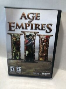 Age of Empires III 3 PC Windows Video Game (2005) With Product Key