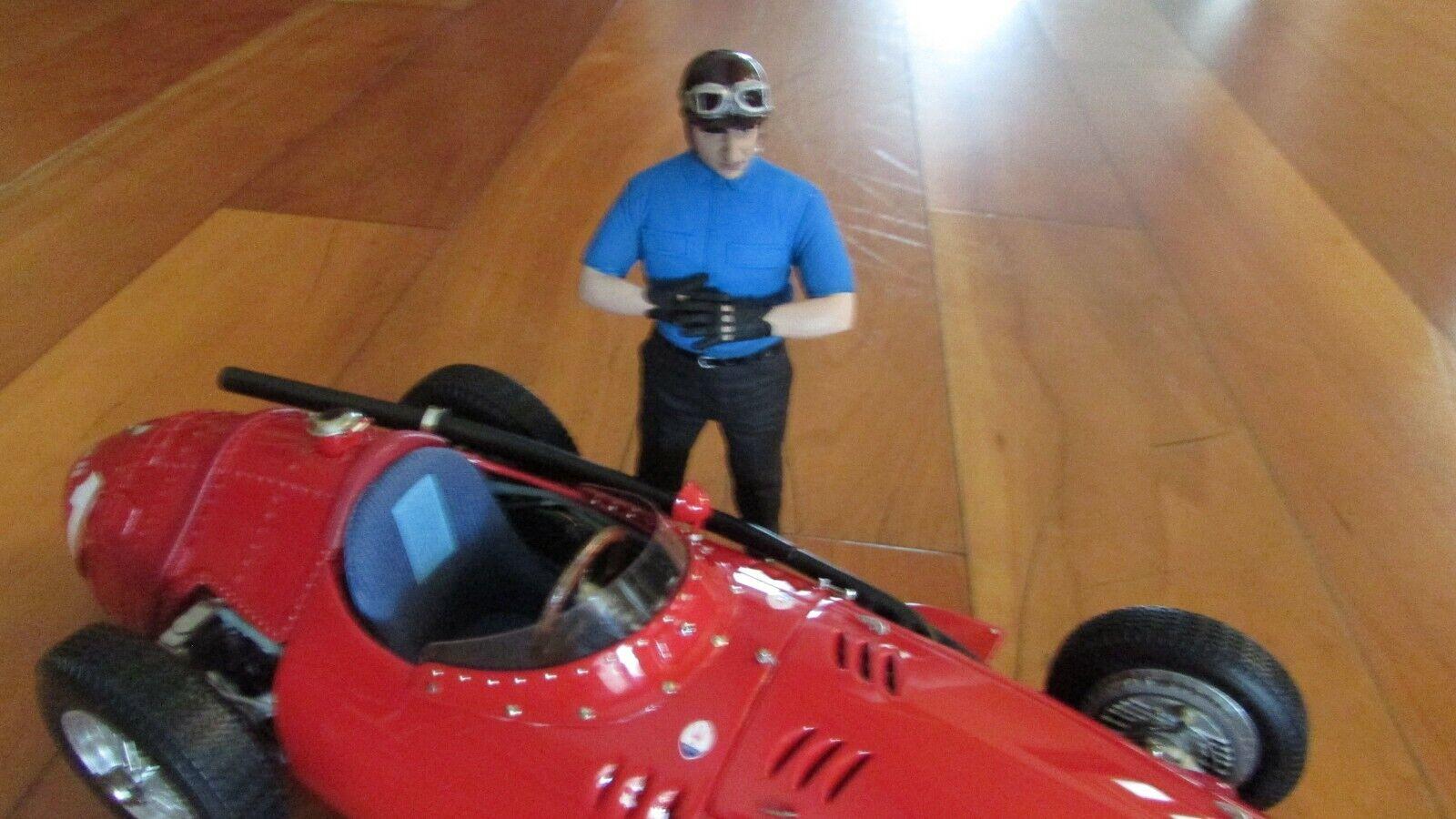 Cmc Maserati  250F F1 Racer & Conducteur Figurine Fangio Win Orig. Boîte 1 18 Gp  2018 dernier