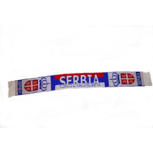 NEW SERBIA COUNTRY FLAG  THICK SCARF.