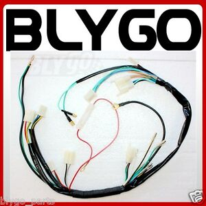 s l300 kick electric start engine wire wiring harness loom light wire engine wiring harness at mifinder.co