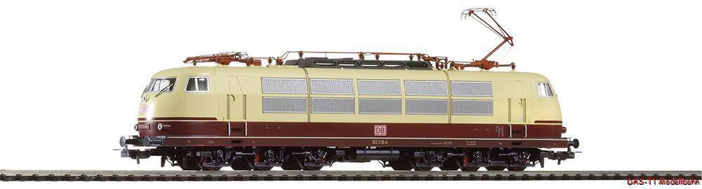 H0 E -Lok BR 103 mit Einholmstromabnehmern DB AG Ep.V Piko 51678 Neu Herregud