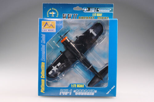 Easy Model 1//72 USS F4U-1D Corsair VF-84 bunker hill 1945 Plast Model #37234