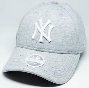 36c139e16b9 Image is loading New-Era-9Forty-New-York-Yankees-Heather-Grey-