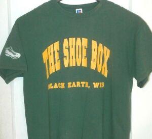 La Camiseta Colección Rara Caja De Zapatos Tenis Wisconsin z8qPw6