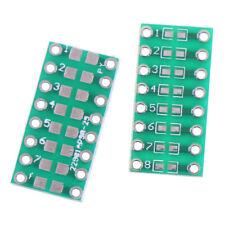 10Pcs SMD//SMT components 0805 0603 0402 to DIP adapter PCB board converteYRDE