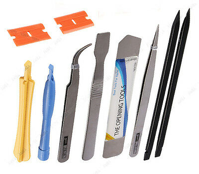High Quality 10 in 1 Phone Repair Opening Pry Tools Set Spudger Tweezer Kit