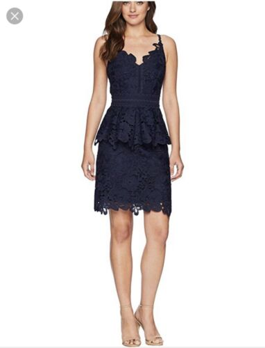 Dress Ted Lace Peplo Size Baker 2 Detail Nadiie TTqRF61S8