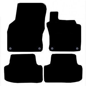 Vw-Golf-Mk7-completamente-ajustados-alfombrillas-de-2013-Negro