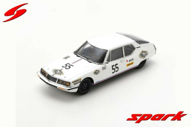 SPARK LM S7999 Citroën SM Practice #55 24h Le Mans 1972 Verrier Foucault 1/43