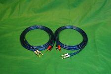 Samurai TRUE 10 Gauge Wire Speaker Cable W/ 2 Pin to 2 Banana Plugs, 10 Ft.