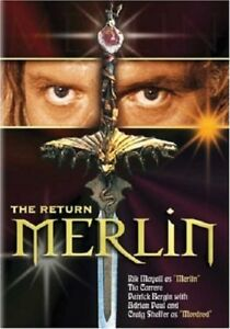 Merlin-The-Return-DVD-2005-Former-Rental-Usually-ships-within-12-hours