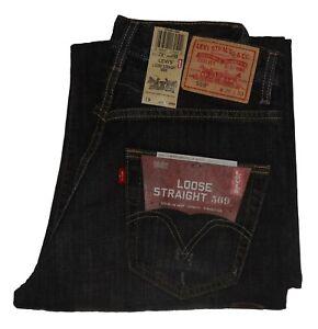 b5ffe92b49d Levis 569 Loose Straight Men's Jeans #1269 xx 28 29 30 31 32 33 34 ...