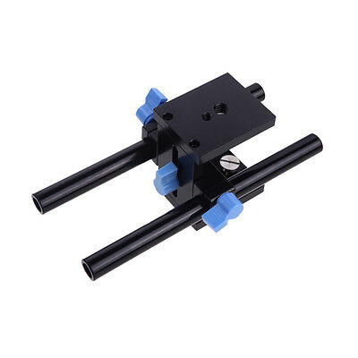 Camera DSLR Follow Focus Rig 5D2 5D3 Rail System 15mm Rod Rig Grundplatte Mount