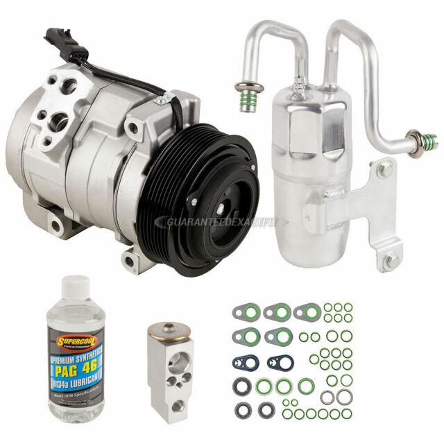 A//C Kit w// AC Compressor Condenser /& Drier For Dodge Ram 1500 2500 3500 BPF