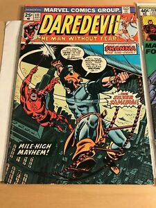 Daredevil-111-FN-VF-7-0-1st-Appearance-Silver-Samurai-No-Marvel-Value-Stamp