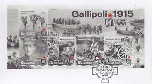 2015-FDC-Australia-Gallipoli-1915-Century-of-WW1-M-S-PictFDI-034-LIVERPOOL-034