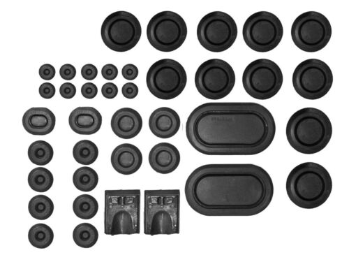 NEW 1968  MUSTANG AND COUGER  RUBBER BODY PLUG KIT