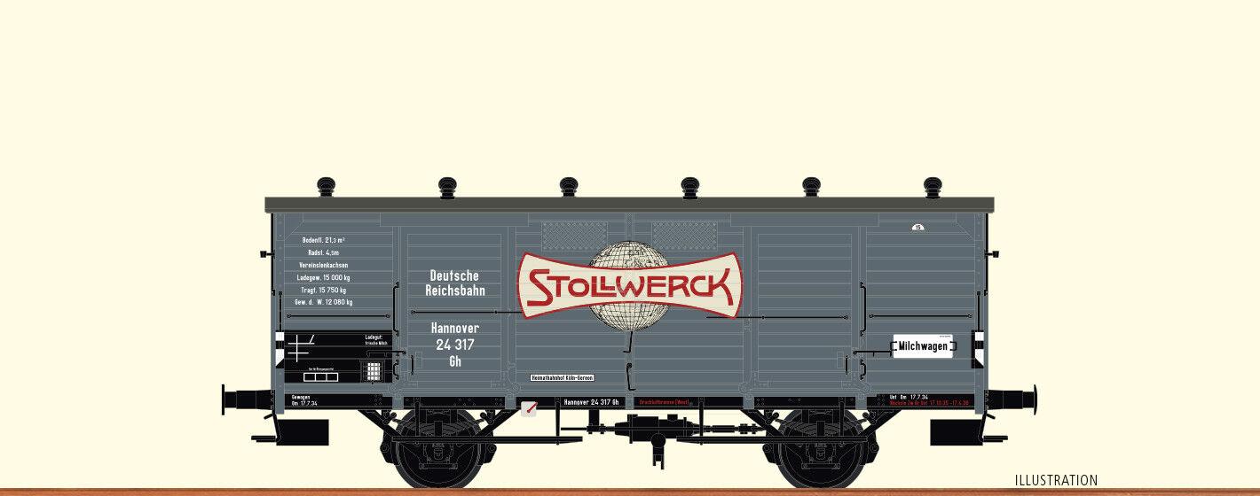 BRAWA 48660 Güterwagen Stollwerk DRG EP II II II DC    Eleganter Stil  4bc130