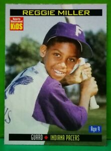 Reggie Miller card 2000 Sports Illustrated For Kids #878