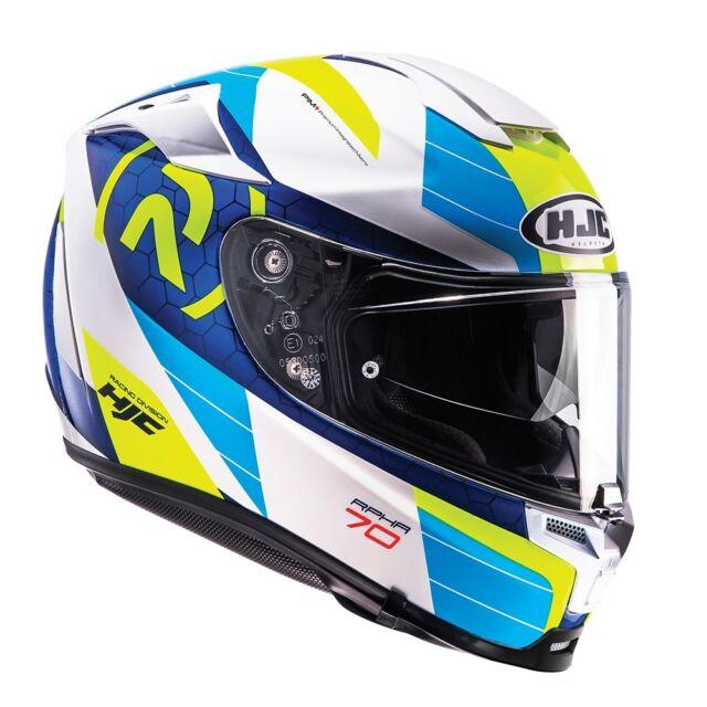 HJC RPHA 70 LIF BLUE  MOTORCYCLE HELMET - MEDIUM