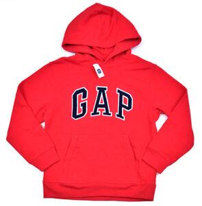 497b1d868 Gap Kids Logo Pullover Hoodie Sweatshirt, Red, X-Large (12) MSRP ...