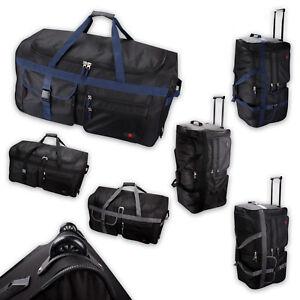 XL-Trolley-Reisetrolley-Rolltasche-Rollkoffer-Reisekoffer-schwarz-grau-blau
