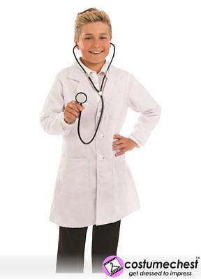 10-12 Anni Cappotto Medici E Stethoscope Childrens Dress Up Costume Da Fun Shack-mostra Il Titolo Originale