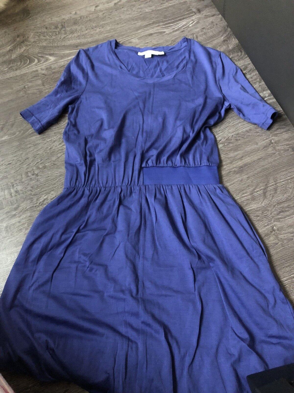 See By Chloe lila Blau Cinched Waist Dress Größe 6 EUC w Pockets