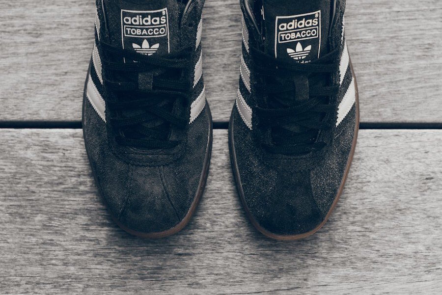 Adidas Originals Tobacco Black Suede GUM Clear Brown White BY9530 Mens 10 Shoes