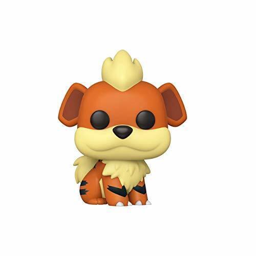 Novo Acc importado Eua Pokemon-Growlithe