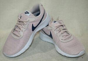 7e0bec5a25 Nike Tanjun (GS) Barely Rose/Navy Girl's Running Shoes-Asst Sizes ...