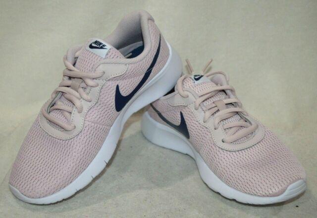 3338b46cb0 Nike Tanjun Big Kids 818384-600 Barely Rose Pink Navy Athletic Shoes ...