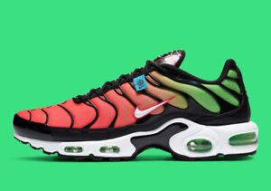 Nike-Air-Max-Plus-Worldwide-SZ-8-Black-White-Green-Strike-CK7291-001