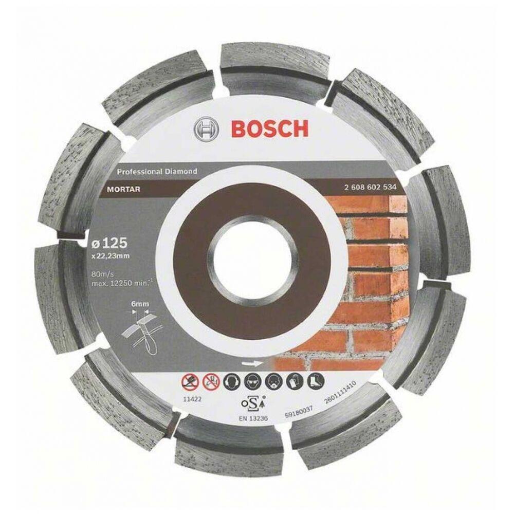 Bosch Fugenfräser Expert for Mortar, 115 x 6 x 7 x 22,23 mm