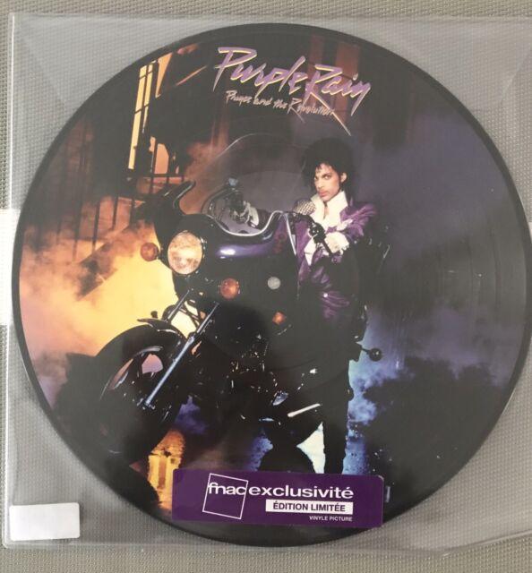 PRINCE LP Purple Rain  PICTURE DISC vinyl Album 2017 Mint 1-557283