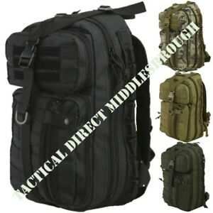 CLEARANCE-30-LITRE-RUCKSACK-DELTA-PATROL-PACK-DAYSACK-ARMY-CADET-HIKING-BAG