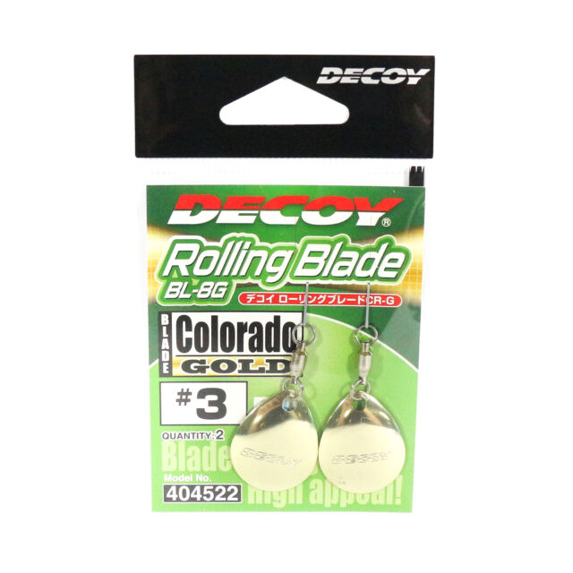 Decoy BL-5G Willow Blade Gold Size 3.5 x 4 pieces 2580